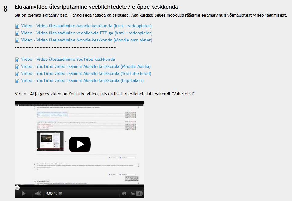 Liige suurendas videoid Video